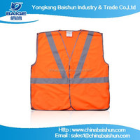 2015 new design fashion popular Hi reflective safety vest with kinds of international certification