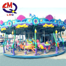 Anti aluminum plate used carousel ride for sale