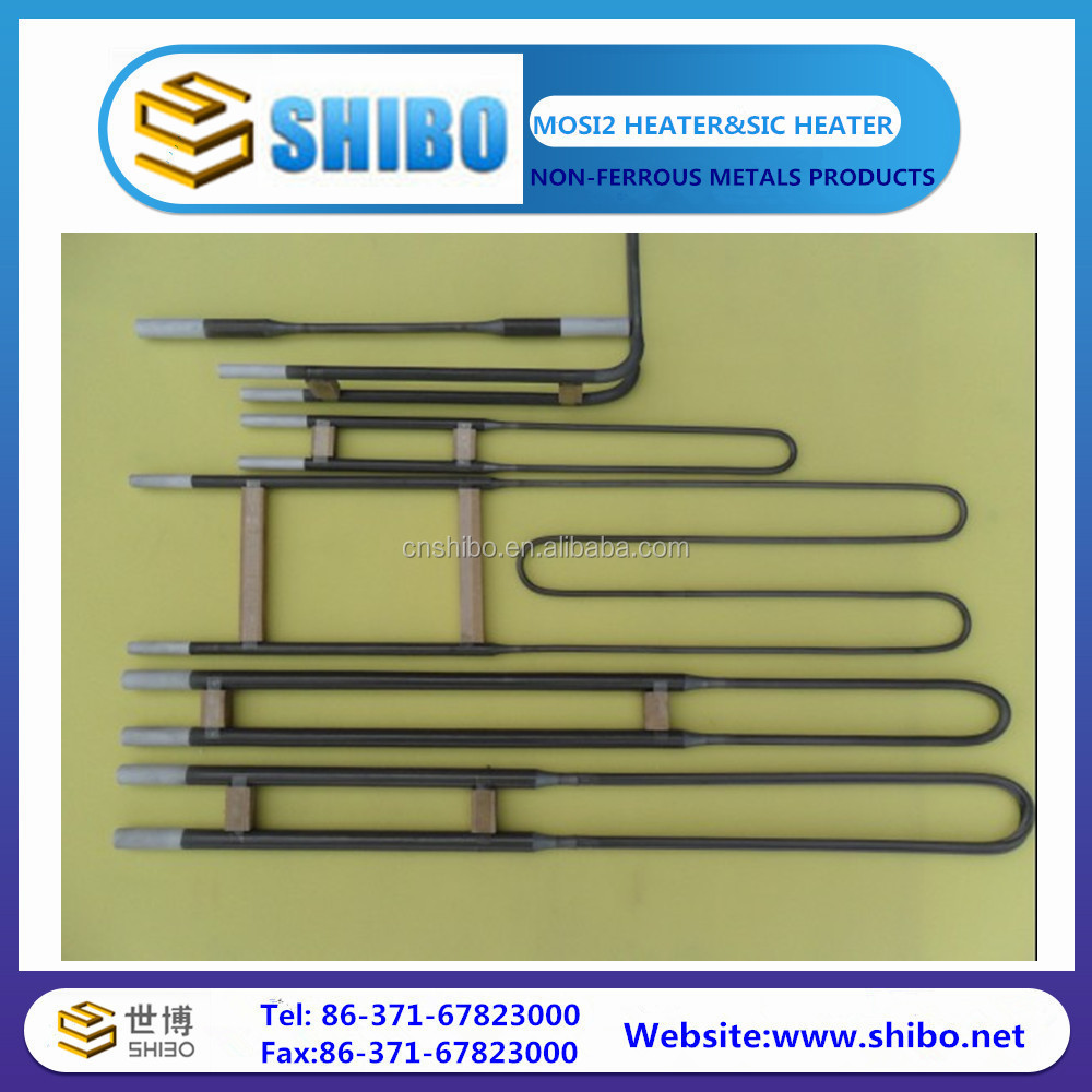 Different specification of MoSi2 heating elements with satisfactory price