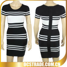 black and white cheap prom bandage dresses uk 2014