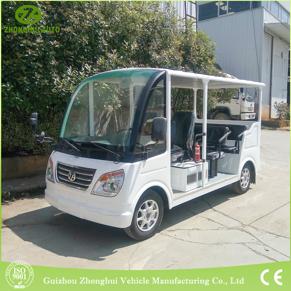 mini electric sightseeing bus electric shuttle car to USA