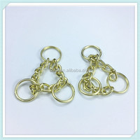 2017 Strong stainless steel dog chain stainless steel ball gold chain