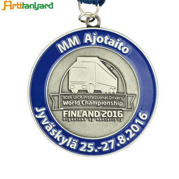Factory Direct Plated Bronze Medal, Silver Medal, Gold Medal