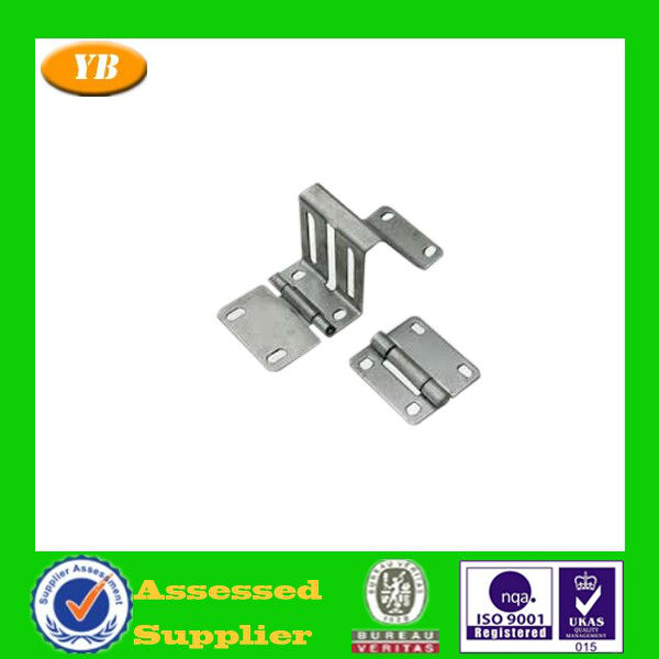 Passed ISO9001 customized door hingle stamping parts made of aluminum