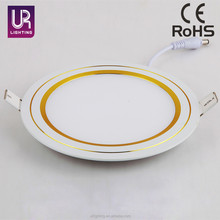 High quality energy saving SMD ultra slim round led panel light 12w