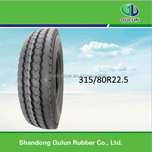 11R22.5 truck tire for driving position with big block pattern and deep tread depth for sale