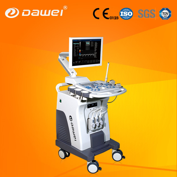 Brand new 3D4D color doppler trolley Ultrasound Machine for wholesale