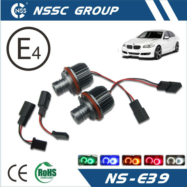 2014 NSSC HOT SALE E39 Led Angel Eyes Marker Cree High Power 10W E60 E61 5-Series