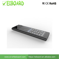 2017 EIBOARD Infrared built-in microphone all in one tv remote control for PC