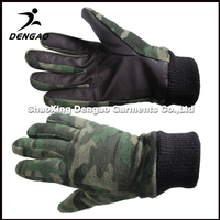 High Quality Windproof warm winter glove , safety knitted cotton glove wholesale