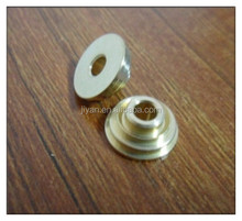 Specializes custom CNC turning machining brass smoking pipe parts for cigarette
