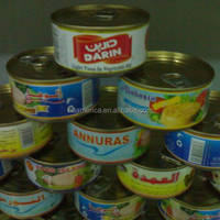 160g Canned Tuna Shredded In Oil