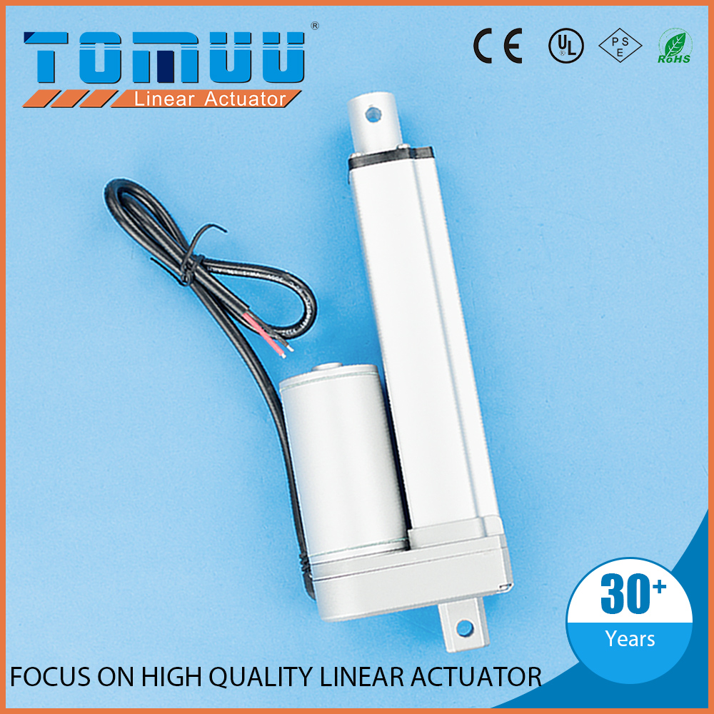 TOMUU best seller 12v 24v electric linear push pull solenoid actuator