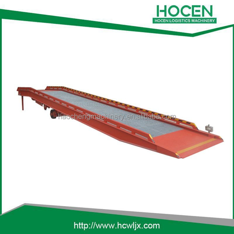 3Tons till 15Tons high quality portable adjustable loading dock ramp for sale