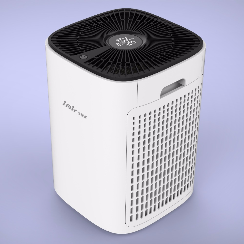 LY300 household floor type portable air cleaner hepa for dust remove