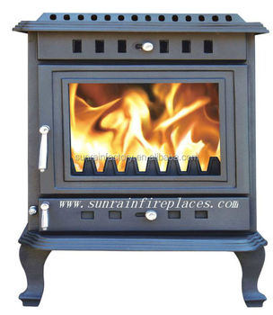 cast iron wood burning stove with boiler/boiler stoves multi fuel