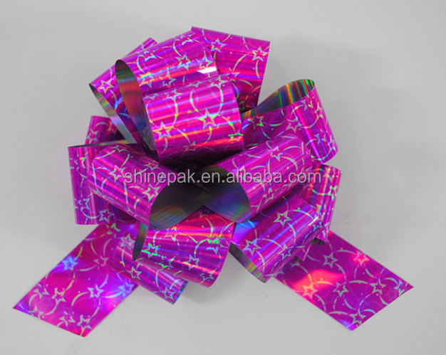 TP holographic Packaging bow for gift