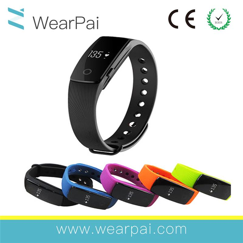 Selfie Ring Wristabnd Blood Pressure Wrist Watch Phone Android Activity Monitor Heart Oxygen Wristband Pedometer multicolors M3