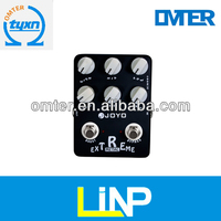 JF-17 EXTREME METAL Great quality electric Guitar Crunch Box Digital Distortion Effect Pedal