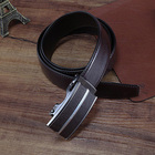 Top Brand Metal Alloy Buckle Genuine Leather Belts for Men