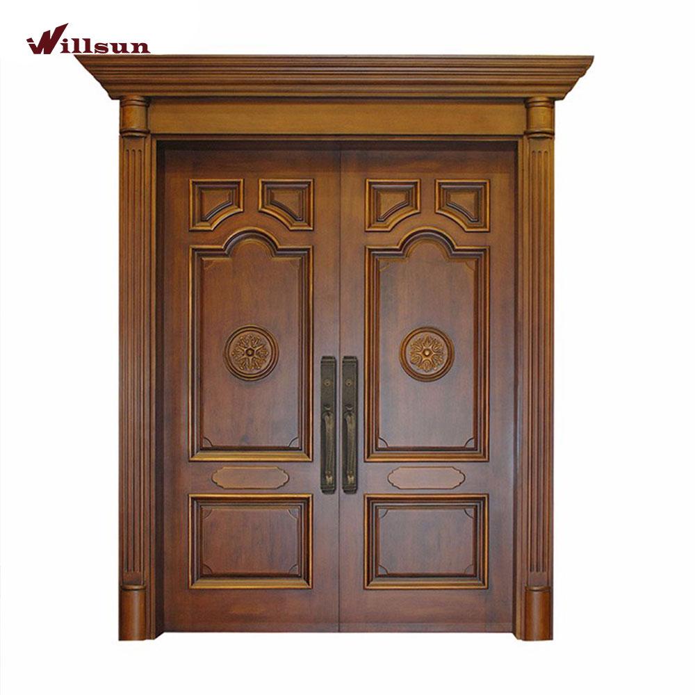 Indian Model Teak Wood Panels Carved Main Front Double Door Design For House In Kerala Buy Indian Model House Main Door Design Teak Wood Main Door