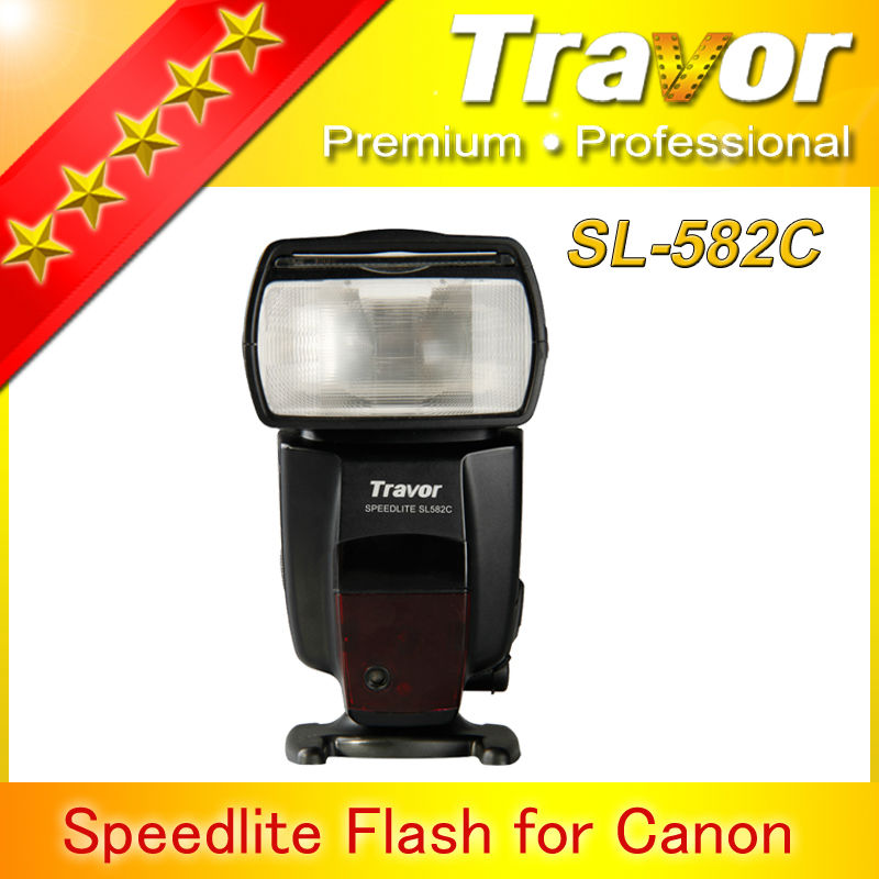 2014 TRAVOR brand factory price speedlite camera flash for canon 70d