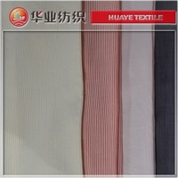 yarn dyed 100% cupro stripe satin fabric for summer clothing