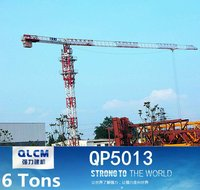 6 Tons QP5013 Tower Crane CE approved