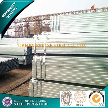 ASTM A500 galvanized square tube sign post made in China