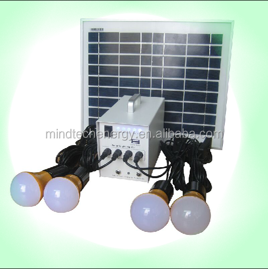 low cost solar power kit for rural areas