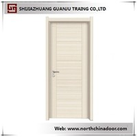 Waterproof Molded Melamine MDF Panel Interior Door