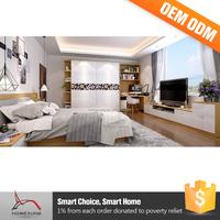 Luxury Melamine Modern Home Bedroom Furniture