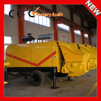 XINYU mini trailer beton pump 60m3/h concrete output with competitive price