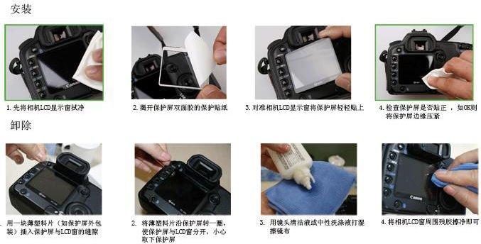 FOTGA optical glass LCD screen Protector cover for Pentax K20D DSLR camera New