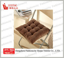 High quality Memory Foam square Chair Cushion/Seat Pad