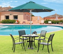 Outdoor Furniture General Use and Stainless Steel Pole Material Sun Garden Umbrellas