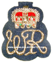 Zari Hand Embroidery Intricate Designed Badges