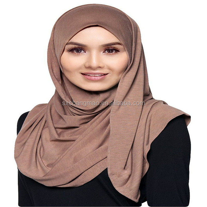 Jersey Cotton Ready to Wear Instant Hijab Scarf