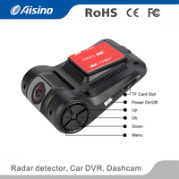 China manufacture NT96658 1080P night vision black wifi dash cam front and rear for cars