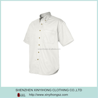 Newest White Color Natural Cotton Suitable Fashion Shirts For Boys