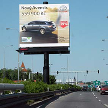 Outdoor Advertising Scrolling Billboard Manufacture