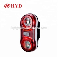 Cycling Road bicycle 1w red led road flashlight Waterproof warning light Rear Laser Tail Light