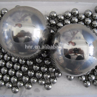 size: 1.588-25.4mm steel ball by stainless or chrome steel