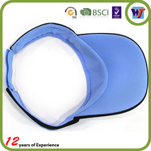 Mesh Fabric Covered Top Air Visor Cap For Unisex One Size Fit