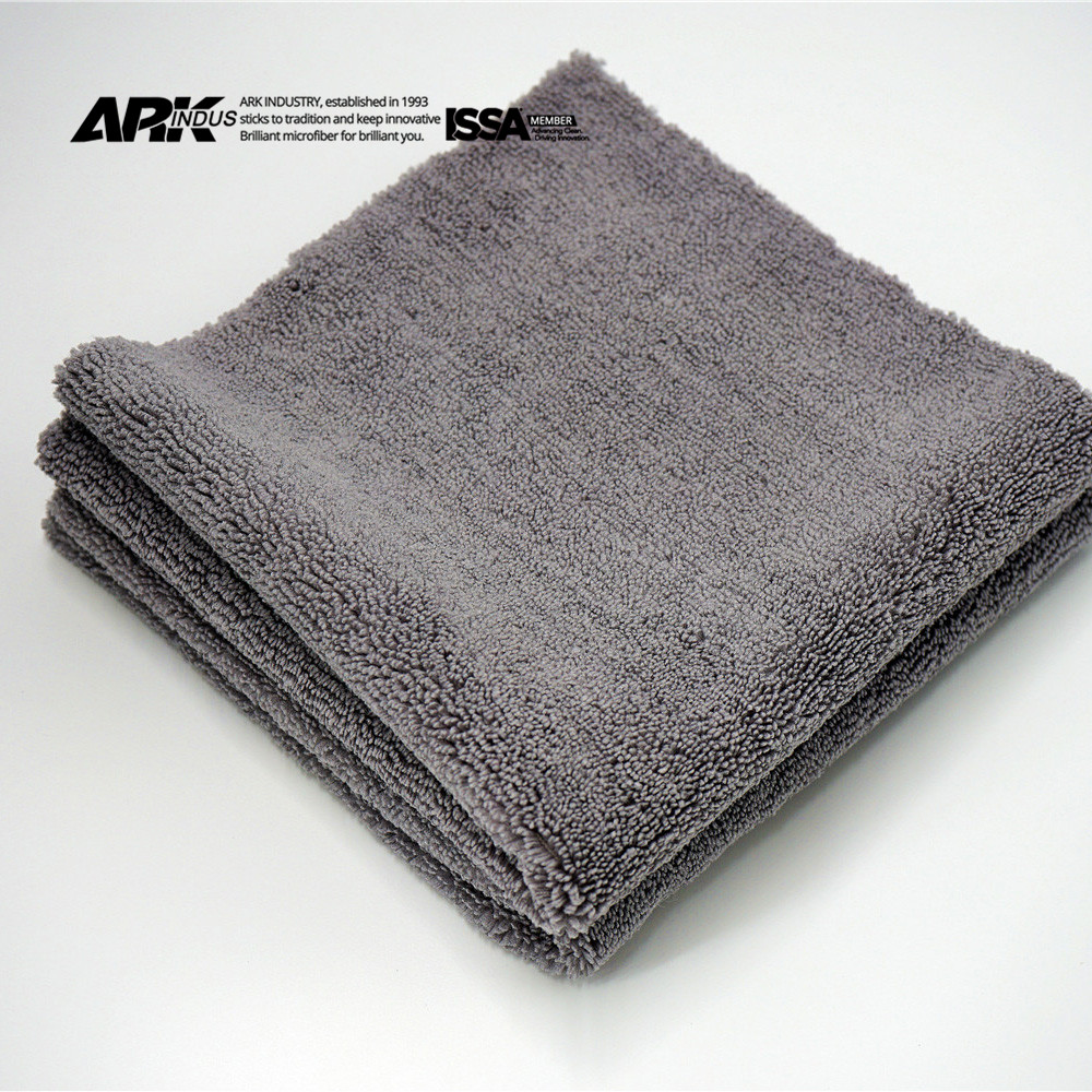 500gsm eagle ultimate auto edgeless plush microfiber towel