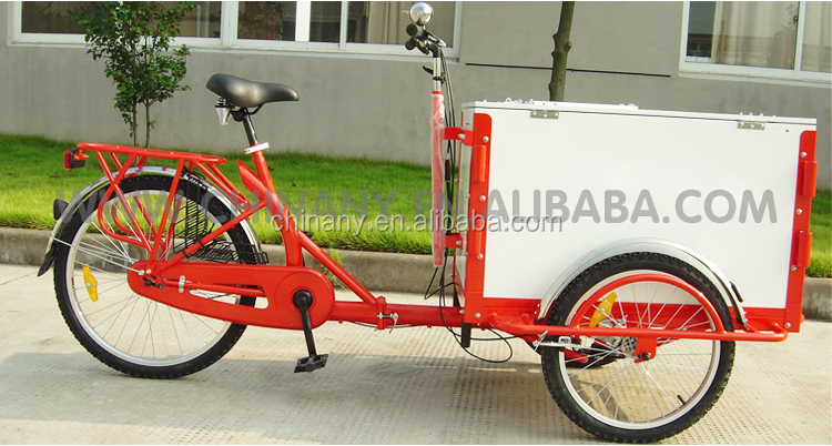 The ice cream bicycle /street vending tricycle for sale