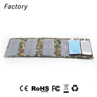 foldable solar charger bag for Tablet PC with power bank 12000mAh