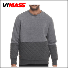 High quality guangzhou clothing mens crewneck sweatshirt, wholesale cheap crewneck sweatshirt China manufacture