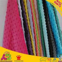 2015 new design high quality super soft Oeko-tex 100 and SGS dimple cuddle