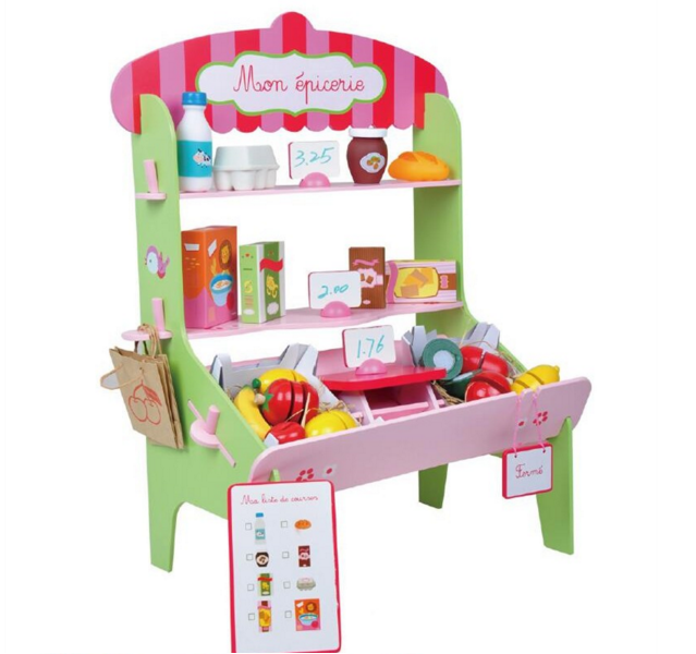 Children Pretend Toys Kitchen Play Set Wooden Furniture promotional toys